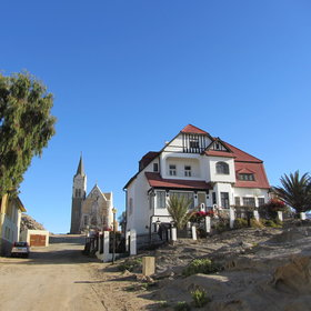 It was one of the first spots in Namibia where Europeans built permanent homes.