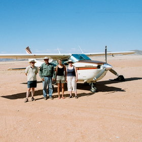 To do justice to the Skeleton Coast, splash out on a fly-in safari.