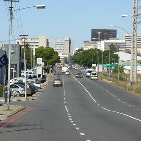 Windhoek is a modern, African capital city of a young country.