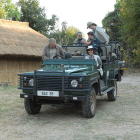 Most offer 4WD safaris in small, open vehicles - with first-rate safari guides...