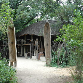 Lake Manyara Tree Lodge is the only permanent lodge within the park.