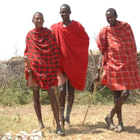 The region around the Serengeti is home to the Maasai,