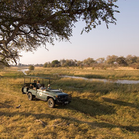 But most of the time the area is quite dry and perfect for safaris in open 4WD vehicles.