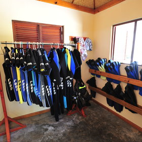 ...or the watersports centre, offering snorkelling, diving and fishing trips.