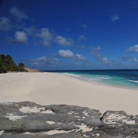 ...and seven stunning, white-powdered beaches!