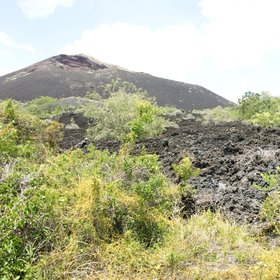 …and areas where you can leave the vehicle for a short hike, such as the Shetani lava flow.