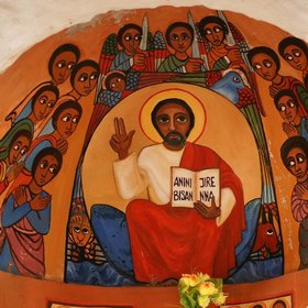 But the highlights can be brilliantly engaging, as in this chuch with Ethiopian paintings.