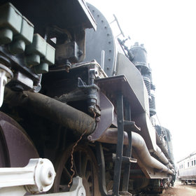 The Railway Museum displays some fascinating relics of Kenya's colonial history.