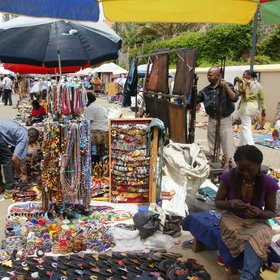 …and the weekly 'Maasai Markets' - curio marts held in different parts of the city.