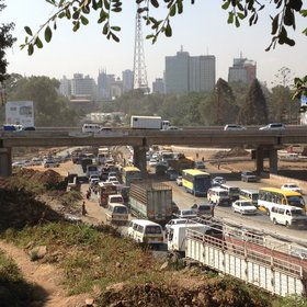 You quickly come down to earth, however, as soon as you get into Nairobi traffic.