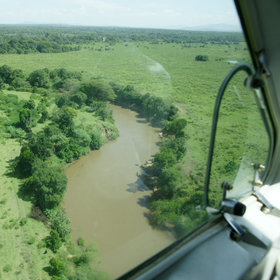 Flying into the reserve, you'll often have great landscape-viewing on the final approach.