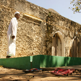 and you can find living history in unlikely places, like Kongo Mosque at Diani Beach.
