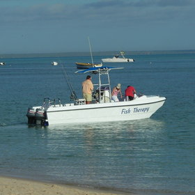 All lodges will offer small boats to go island hopping or salt-water fly-fishing.
