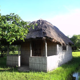 … and three huts, is a perfect base for exploring the area…