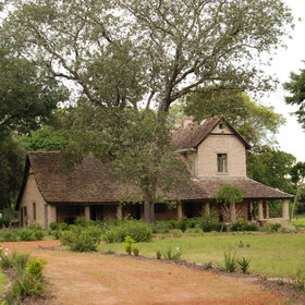 … but you can also stay at the Impandala House on the estate.