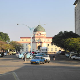 ...characterised by its wide streets and avenues, lined with Jacaranda Trees.