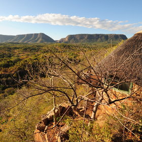 Chizarira National Park is known as one of the most scenic regions in Zimbabwe