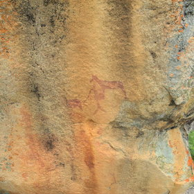 This is a national park of huge historical interest, containing ancient bushman rock art...