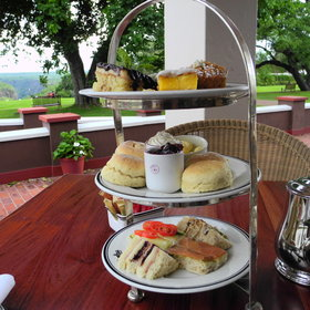 ...or just relax and take high tea at the famous old Victoria Falls Hotel