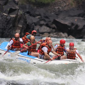 ...and experience some of the most extreme commercially navigable rapids in the world