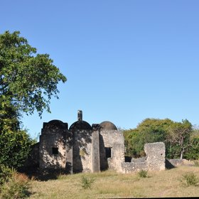The 11th century ruins…