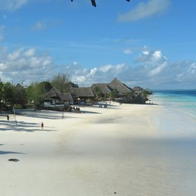 Northern Zanzibar offers beautiful white-sand beaches...