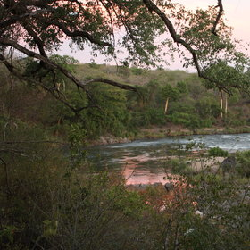 The Bua River runs through the Nkhotakota Wildlife Reserve..