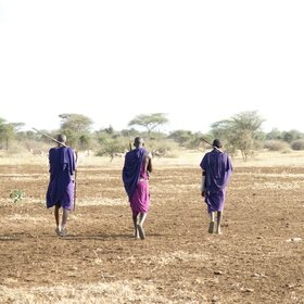 …in the heart of traditional Maasai-land.