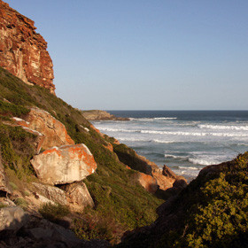 The Garden Route has a lovely scenery with beautiful beaches and verdant forests.
