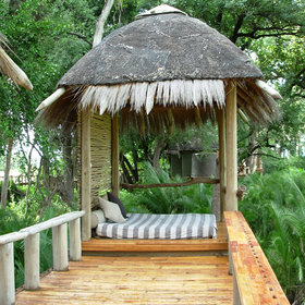 The camps and lodges in Botswana are stylish and luxurious.