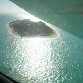 ... which offer outstanding views of the beaches and coral reefs on the way.