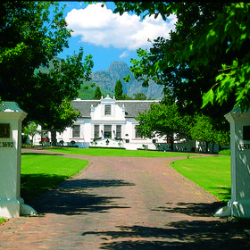 Sample the wine, admire the scenery and Cape Dutch architecture.
