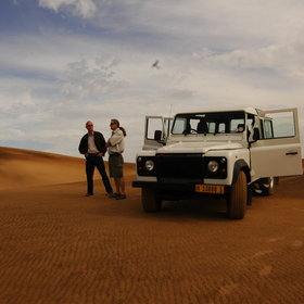 Try out some 4WDing through the desert near Swakopmund...