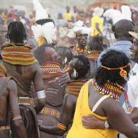 Very warm cultural encounters are also a feature of safaris in Kenya…