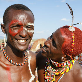 …especially as here, at the annual Lake Turkana Festival, held in Loiyangalani in May