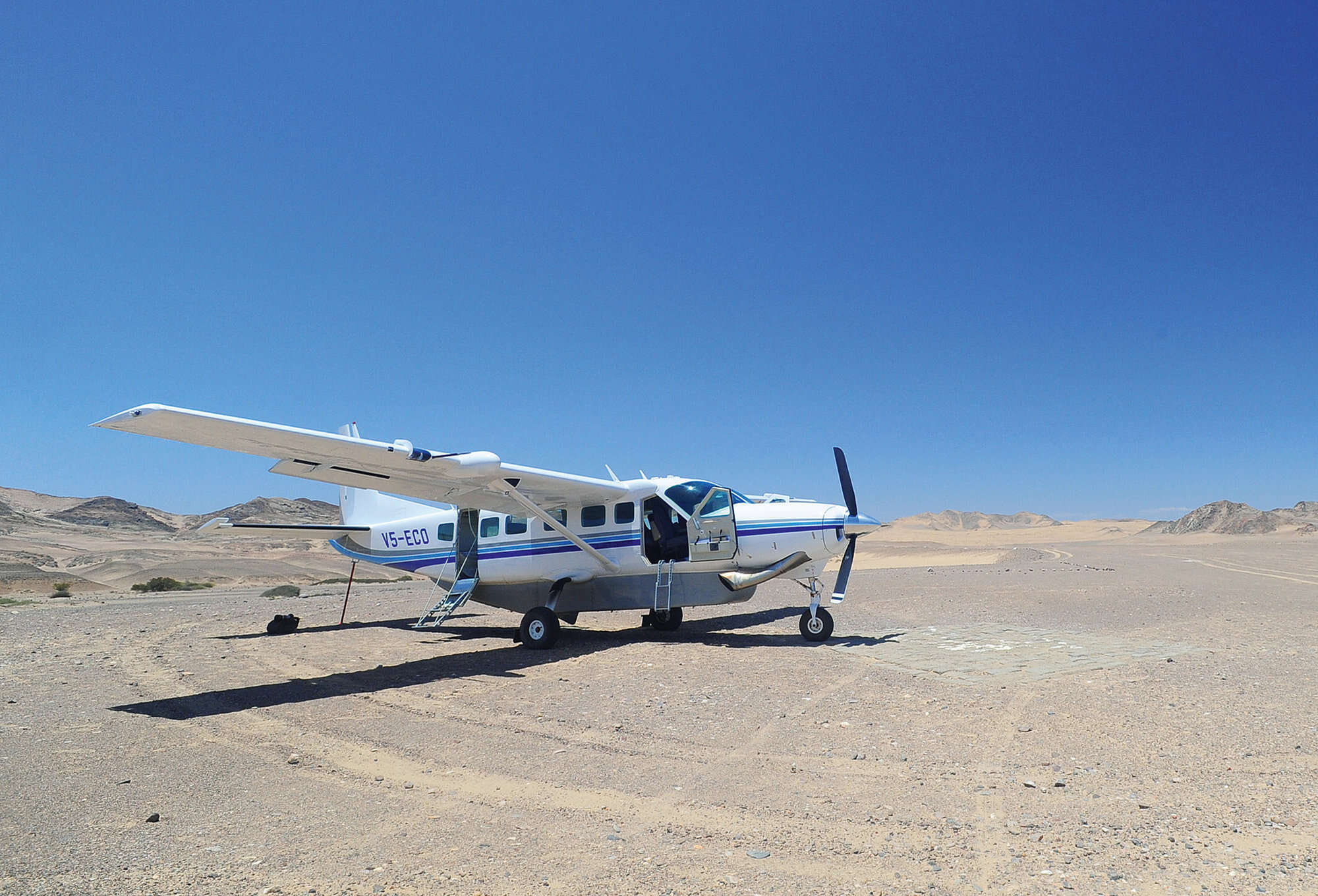 Buzzard fly-in safari to Namibia including northern Damaraland, Etosha National Park and the AfriCat Foundation at Okonjima.