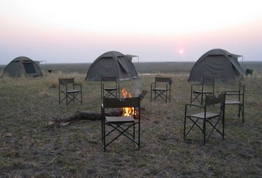 Safari to Hwange Mobile Camp, in Hwange National Park in Zimbabwe.