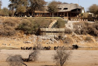 Botswana safari add-on to – staying at Leroo La Tau on the border of the Makgadikgadi Pans National Park