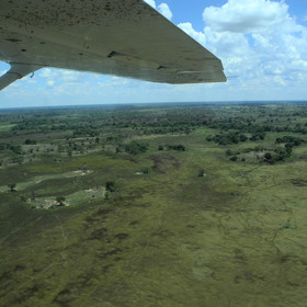 Camp is accessible only by light aircraft, about 25 minutes journey from Maun