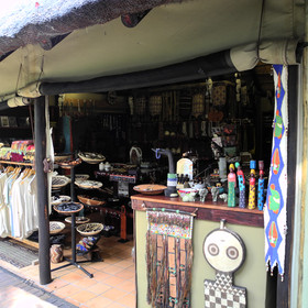 There's also a well stocked curios shop selling some great locally produced souvenirs
