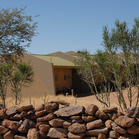 Just south of Solitaire is Namib Naukluft Lodge...