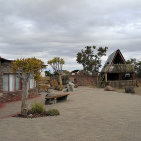 Guests here have the opportunity to visit the nearby Quivertree Forest.