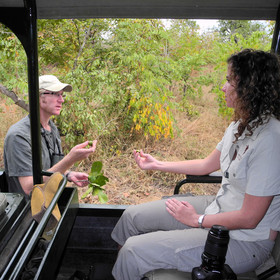 A knowledgeable guide can introduce you to the fauna and flora in the area...