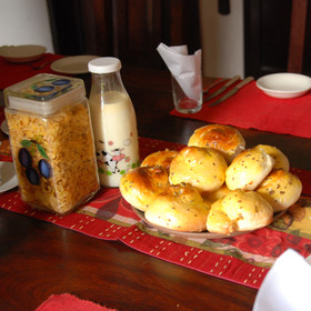 Meals incorporate fresh produce, such as freshly baked bread and milk, from the estate's farm…