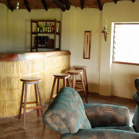 … lounge and bar area …