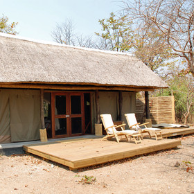 With just four tents it offers an intimate experience.