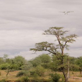 Although you can drive here as part of your guided safari, most guests arrive by air...