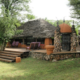 Grumeti River Camp offers laid back luxury overlooking the Grumeti River in Serengeti National Park.