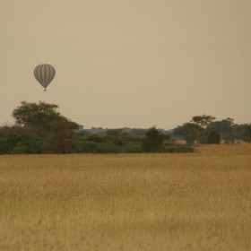 Early morning balloon safaris can also be arranged from camp at an additional cost.