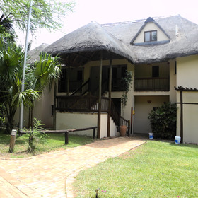Chobe Safari Lodge, beside Chobe National Park.